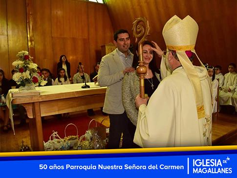 50 años Parroquia Nuestra Señora del Carmen