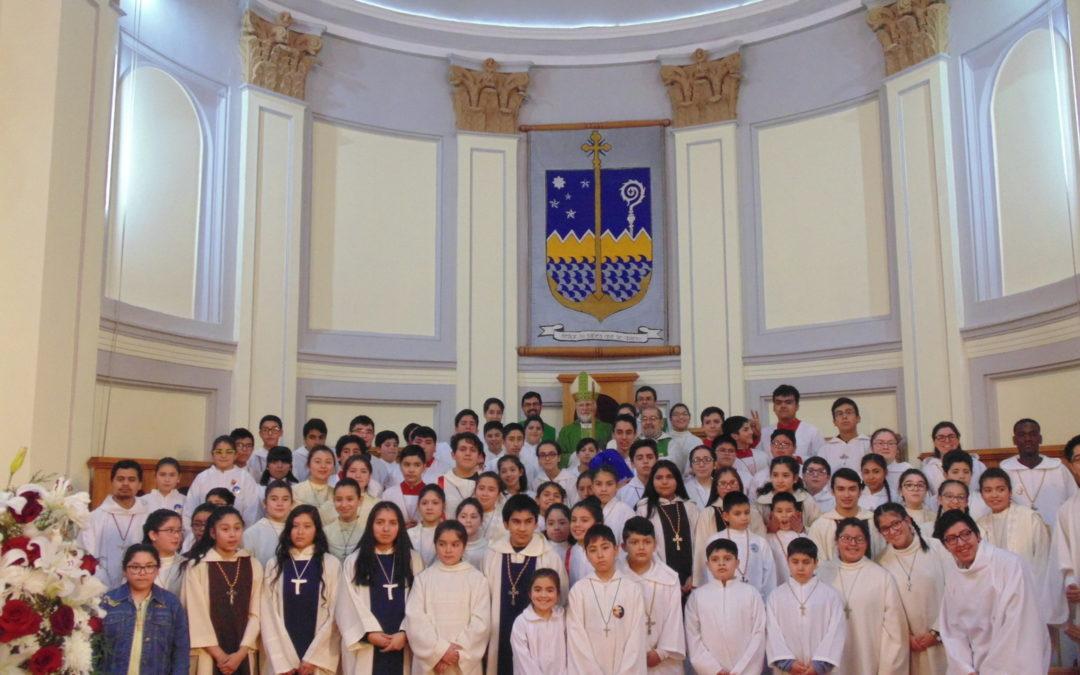 Acólitos de Punta Arenas celebran su día