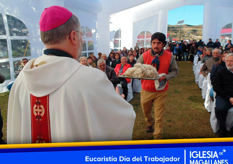 La eucaristía que conmemoró el Día del Trabajador