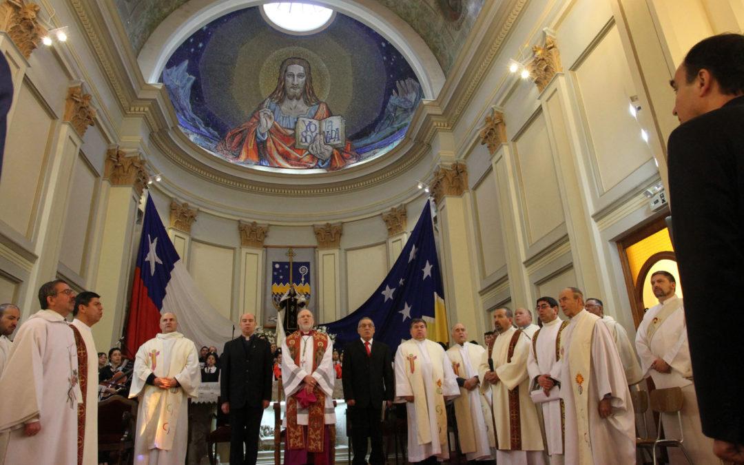 Invitación a la celebración del TE DEUM de Fiestas Patrias.
