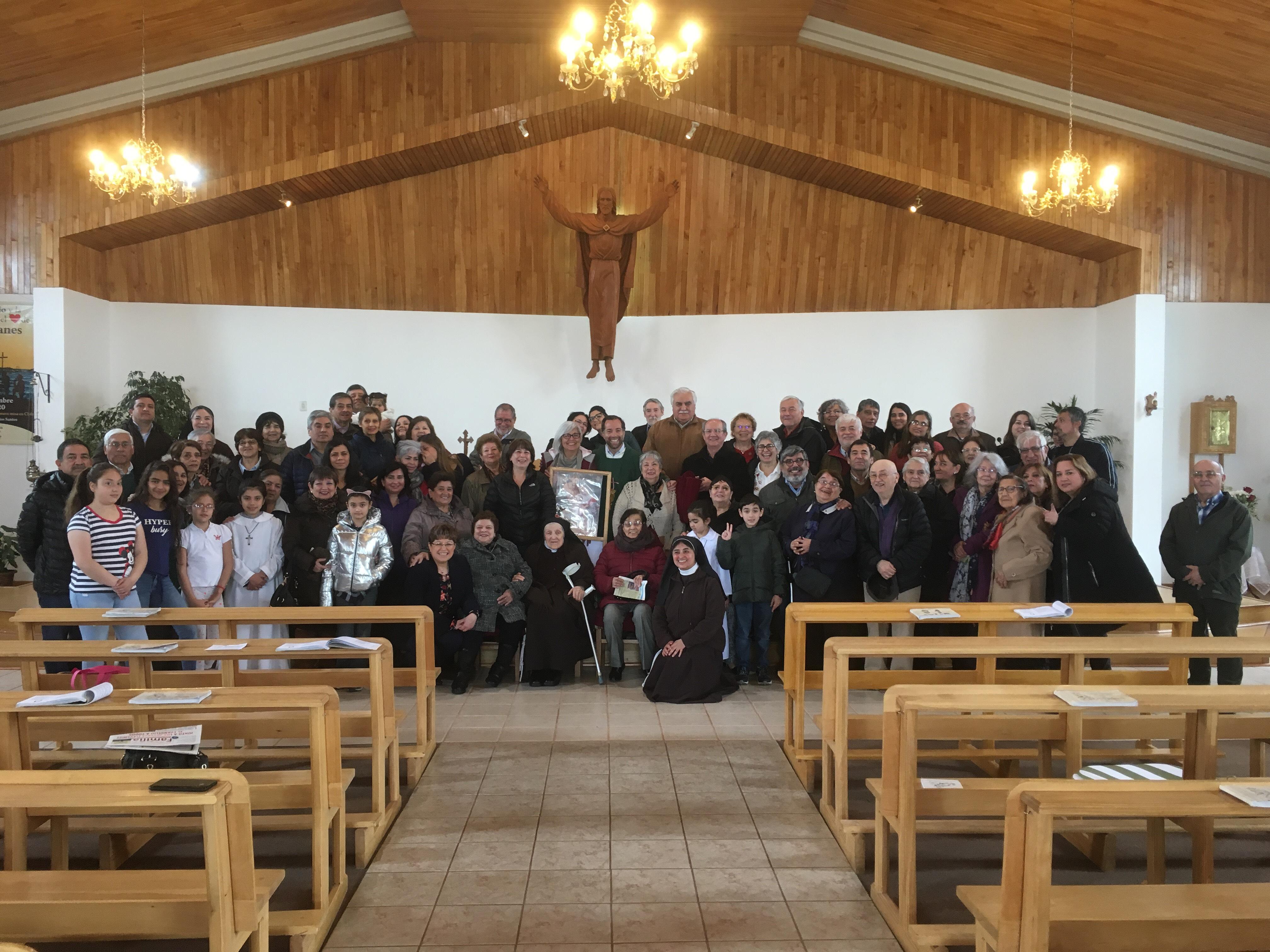 Eucaristía en la celebración Dios Padre