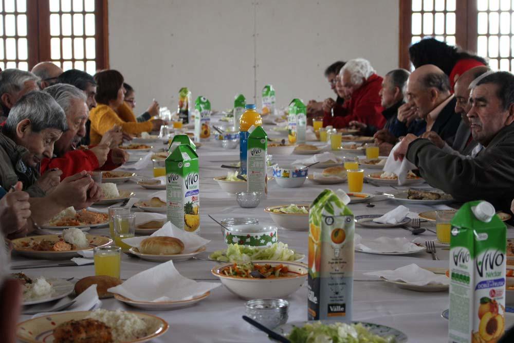 Almuerzo Fraterno en el Santuario de Jesús Nazareno