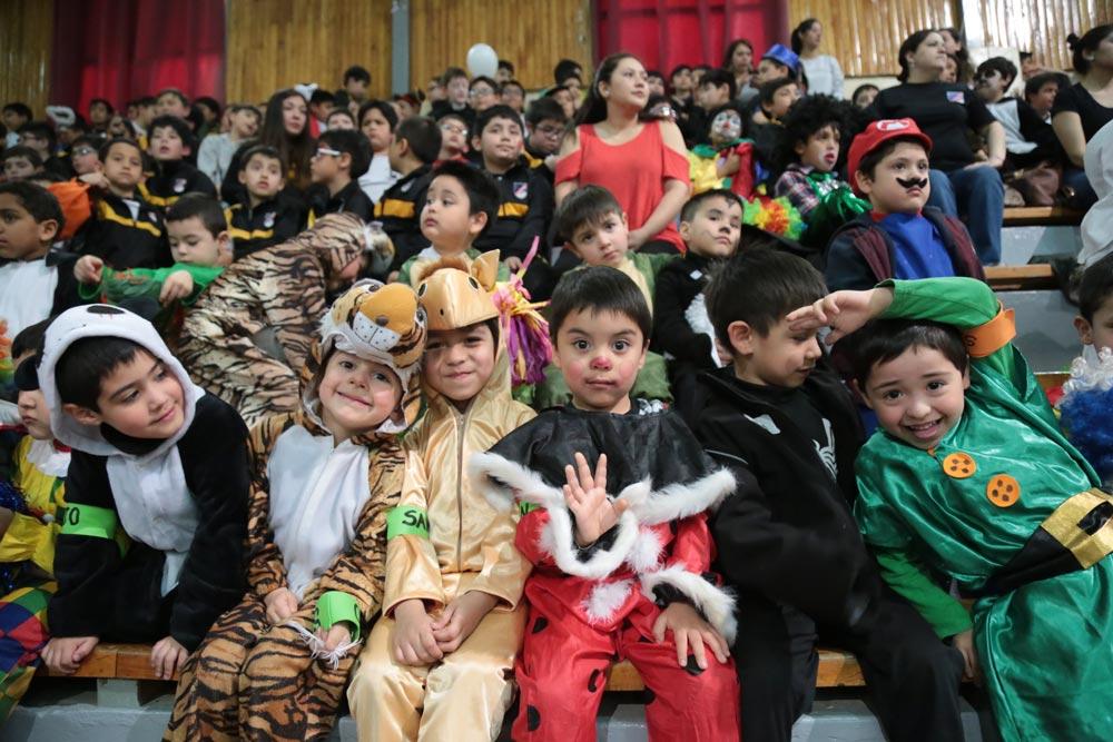 Fiesta de la alegría en Punta Arenas