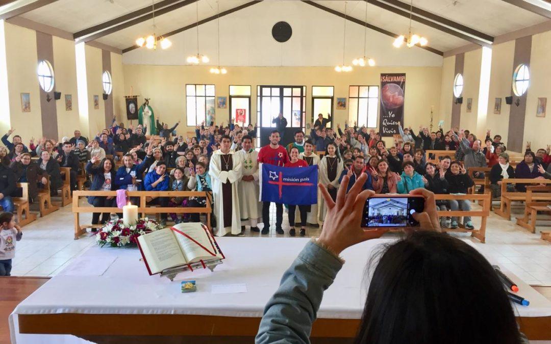 Avanzada de misión país en la Parroquia Santa Teresa de los Andes