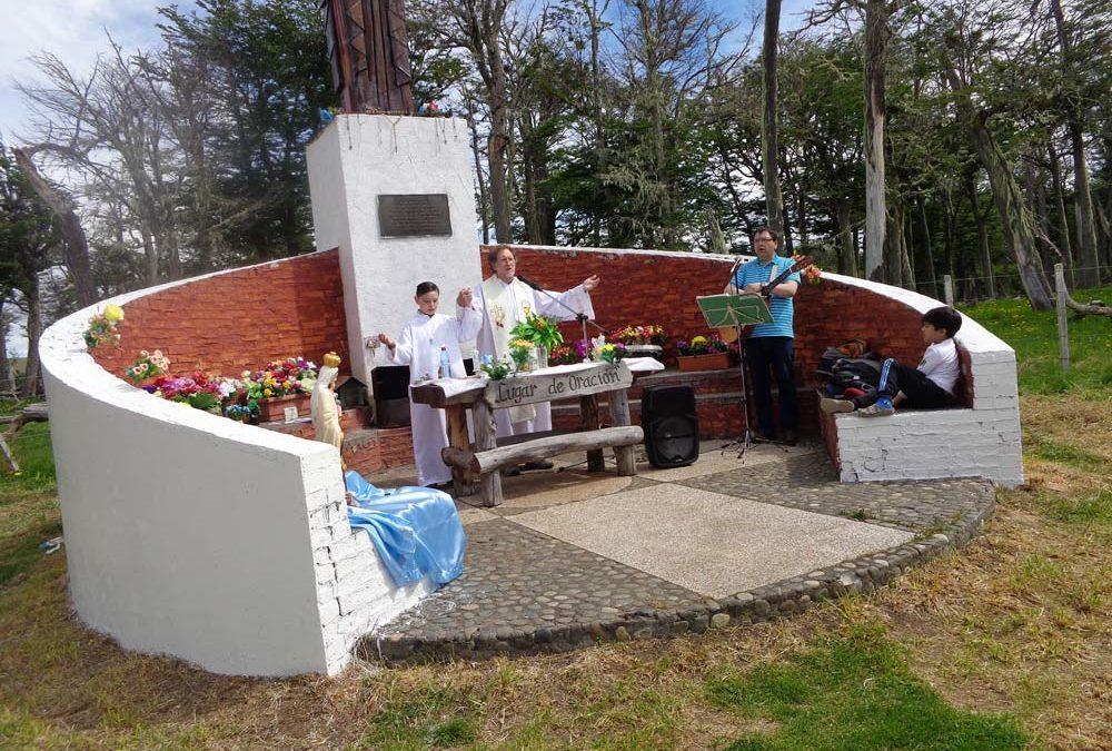 Fiesta del Cristo del camino en Villa Renoval