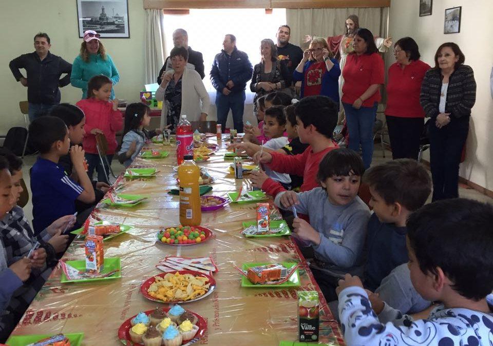 Celebración de la Navidad con migrantes venezolanos