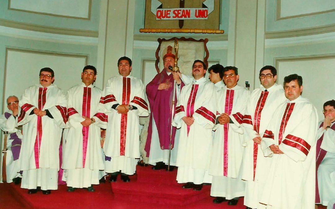 Invitación a celebración de los 25 años Ordenación Diaconal (1993-2018)