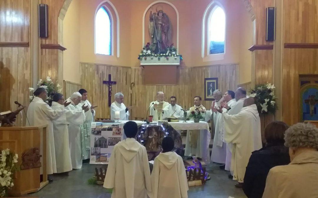 Celebración del centenario de la parroquia San Miguel