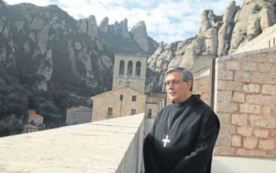 Saludo del Abad de Montserrat de España