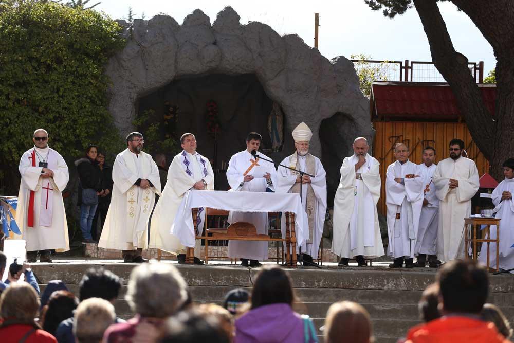 Lunes 11 de febrero, Celebración de la Virgen de Lourdes