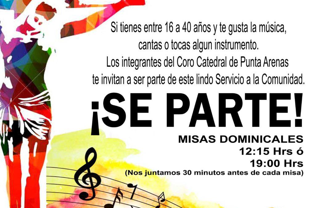Se parte de las Misas Dominicales