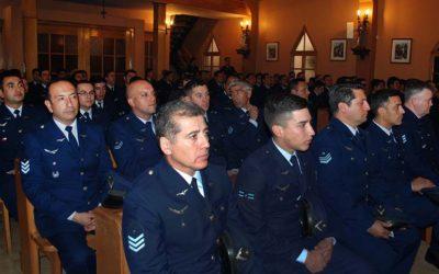 Celebración del aniversario de la fuerza aérea de Chile