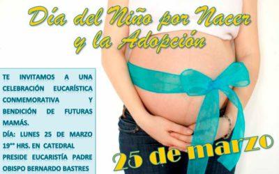 Día del niño por nacer y la adopción