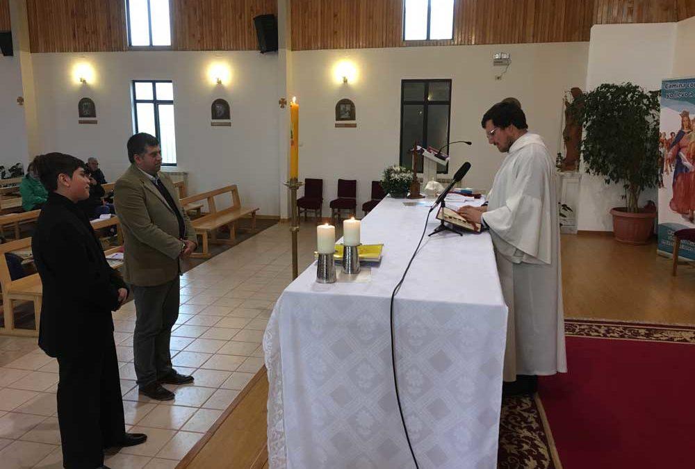 Envío de Catequistas en la Ceb Dios Padre
