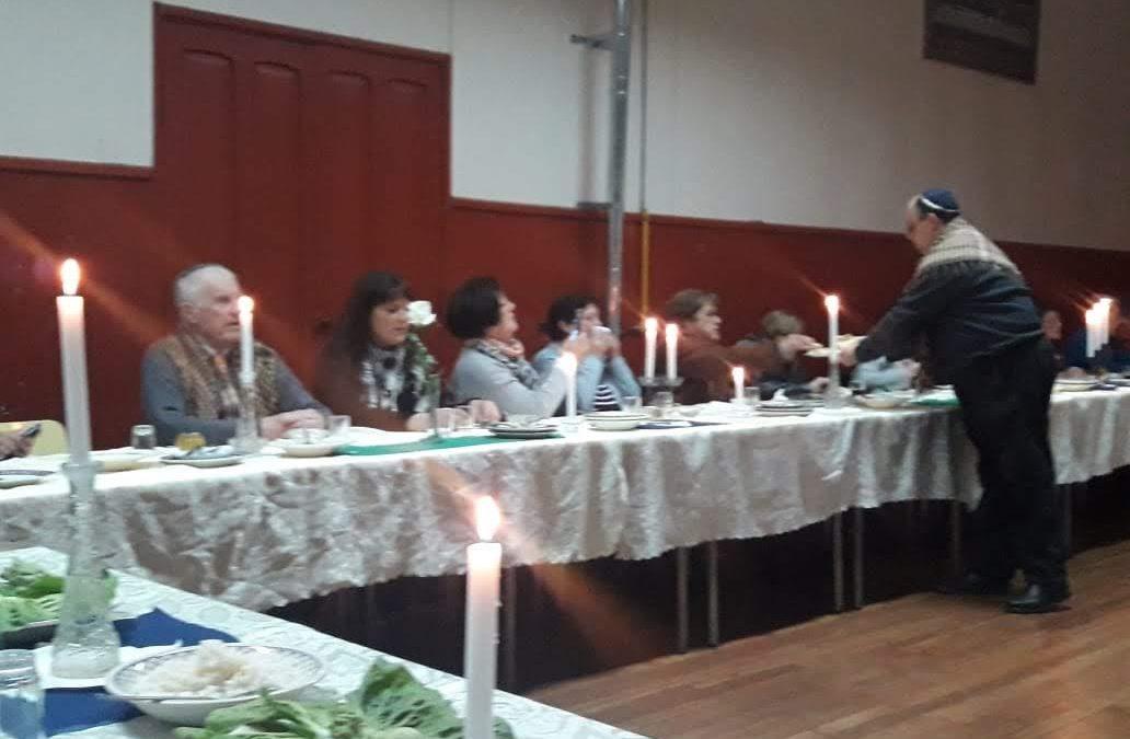 Celebración Cena Judía Parroquia Cristo Obrero