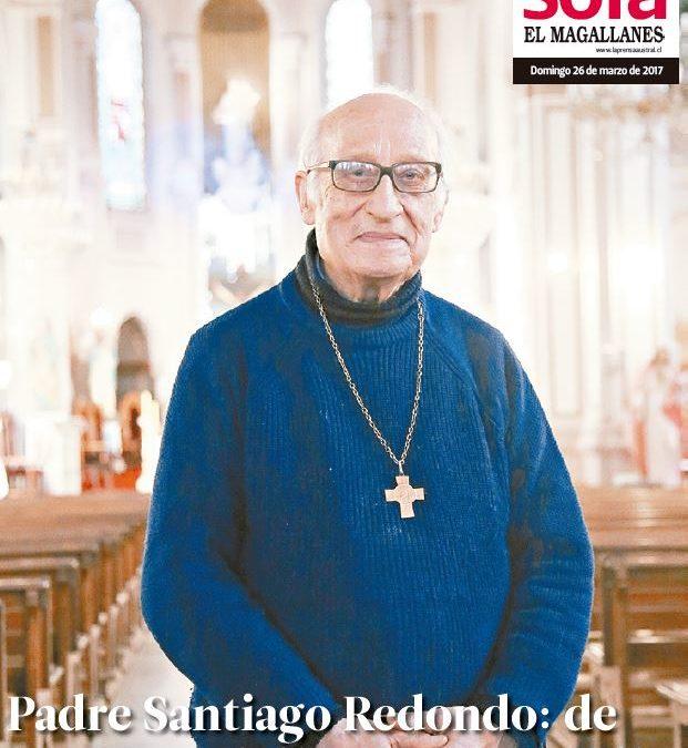 P. Santiago Redondo,  Ciudadano Distinguido de Porvenir e Hijo Ilustre de Magallanes  cumple 90 años de edad