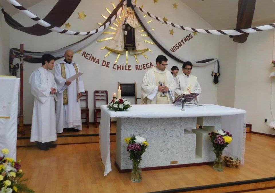 Celebración Comunidad Virgen del Carmen