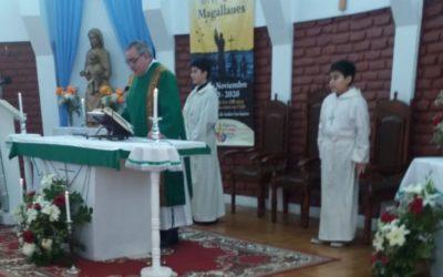 Nuevos acólitos en Ceb. Cristo Amigo
