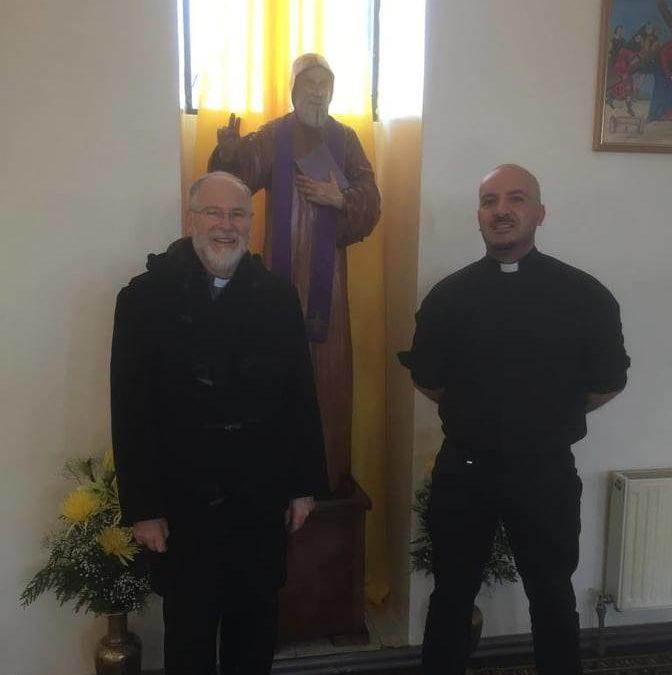 Bendición de la imagen de San Charbel