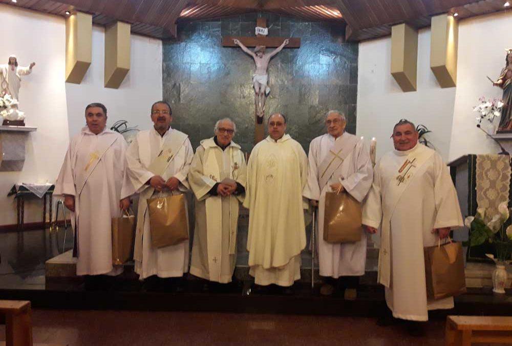 Parroquia Cristo Obrero agradece el servcio de sus diáconos