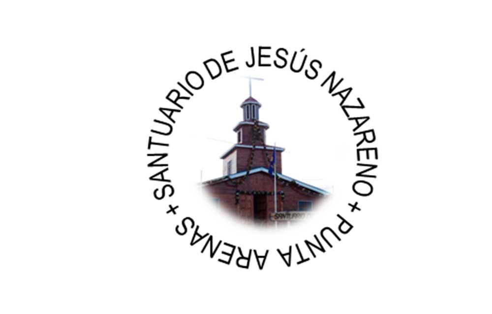 Caminando con Jesús Nazareno a la celebración de la primera misa en tierra chilena