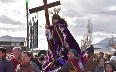 Procesión Jesus Nazareno en Puerto Natales