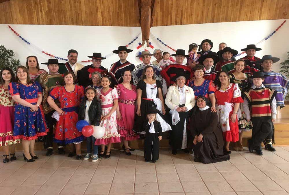 Misa a la Chilena en Ceb Dios Padre