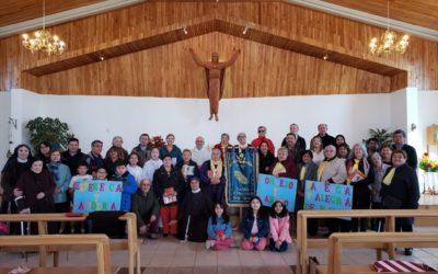 Inicio del mes de la familia y del adulto mayor en Ceb Dios Padre