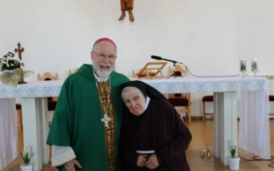 Celebración de los 90 años de la hermana María Angélica Rodríguez