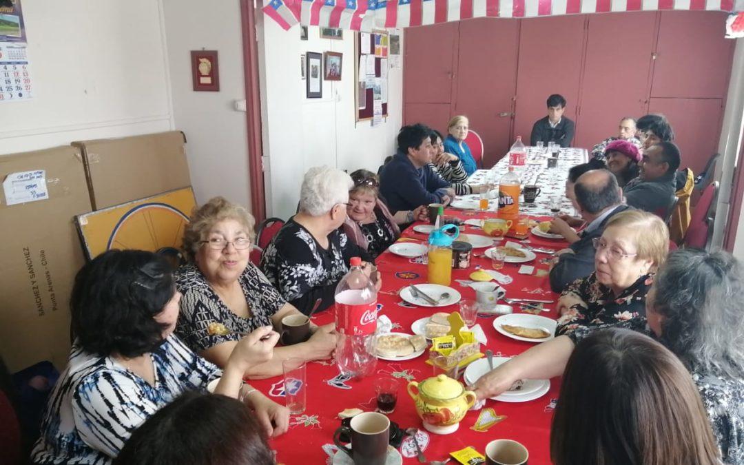 Almuerzo solidario de la Ceb San Juan XXIII