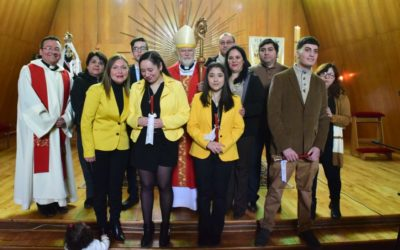 Visita pastoral P. Obispo Bernardo a Puerto Williams 11-14 octubre 2019