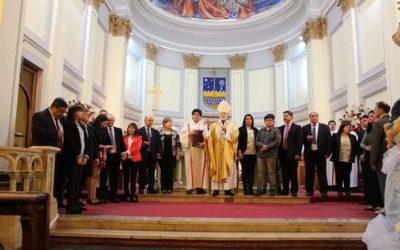Matrimonios de la escuela diaconal recibieron el ministerio de la palabra y de la eucaristía