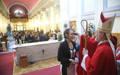 Confirmaciones del liceo San José y Santuario de María Auxiliadora