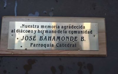 Memoria agradecida de la parroquia catedral por el diácono José Bahamonde