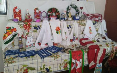 Exposición taller de adulto mayor en Ceb San Juan XXIII