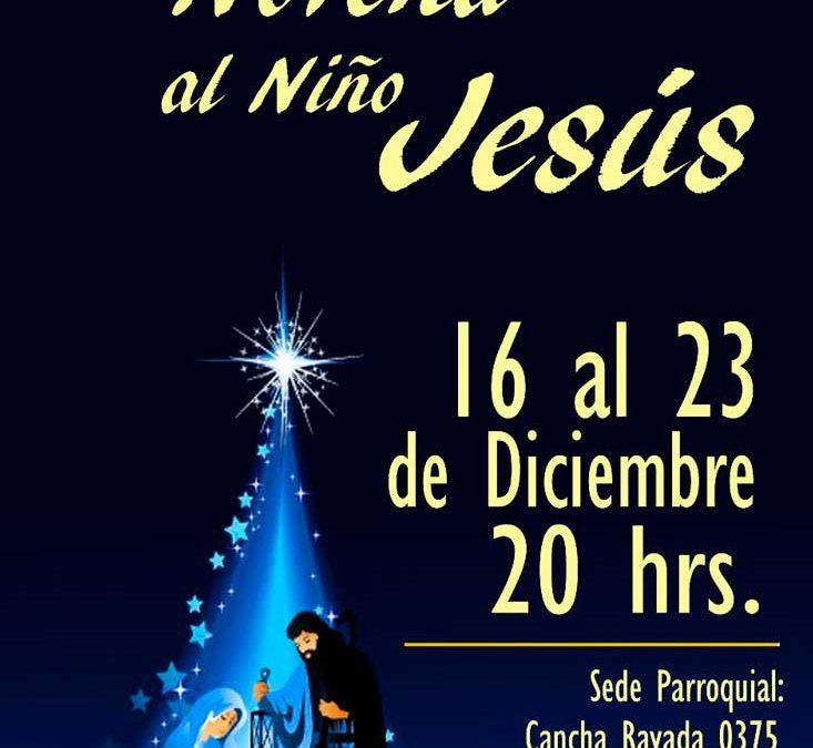 Novena al niño Jesús en Parroquia Nuestra Señora de Fátima