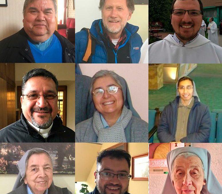 Agradecemos a todos los sacerdotes, religiosos y religiosas que han estado en nuestra región prestando su servicio y que inician una nueva misión