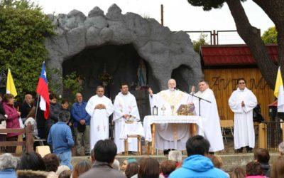 Celebración de Nuestra Señora de Lourdes