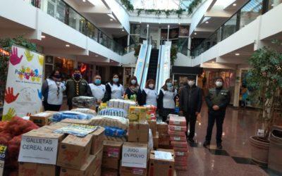 """Primera semana de campaña """"Nadie se salva solo"""": Ha podido reunir 2.500 kilos de mercadería"""
