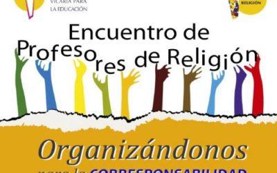 ENCUENTRO FORMATIVO PROFESORES RELIGIÓN DE LA DIÓCESIS