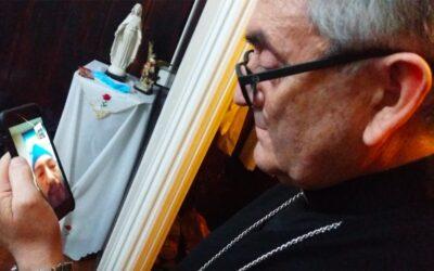 EL OBISPO DE TEMUCO MONS. HÉCTOR VARGAS SOSTIENE REUNIÓN CON MACHI CELESTINO CÓRDOVA