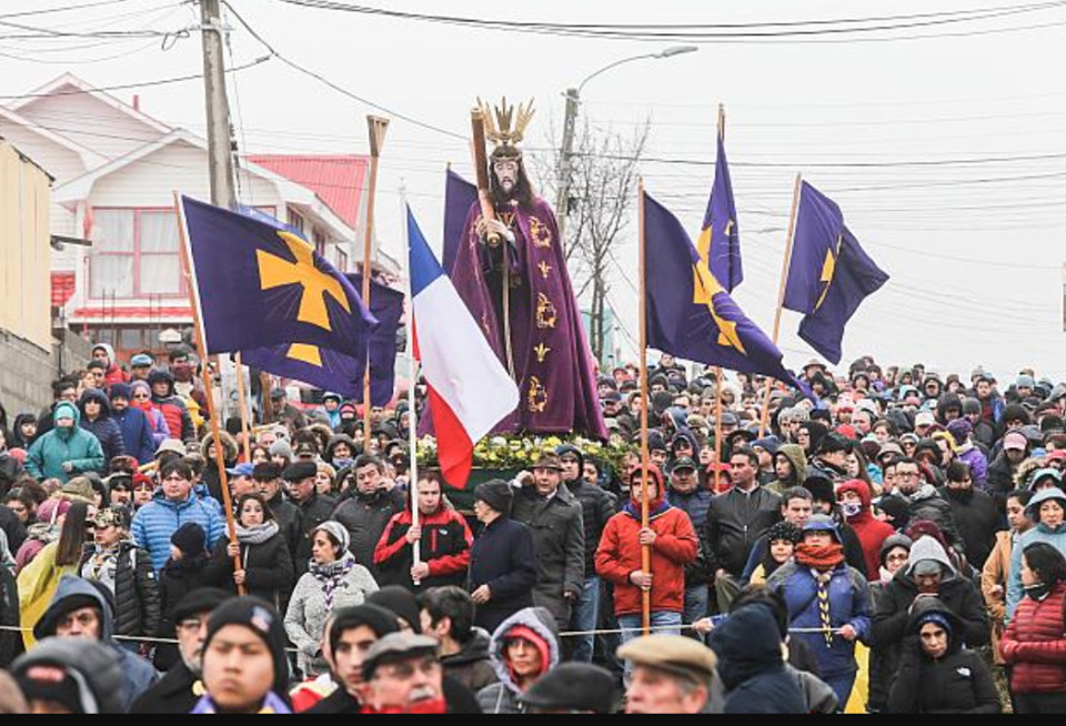 Fiesta de Jesús Nazareno en Punta Arenas