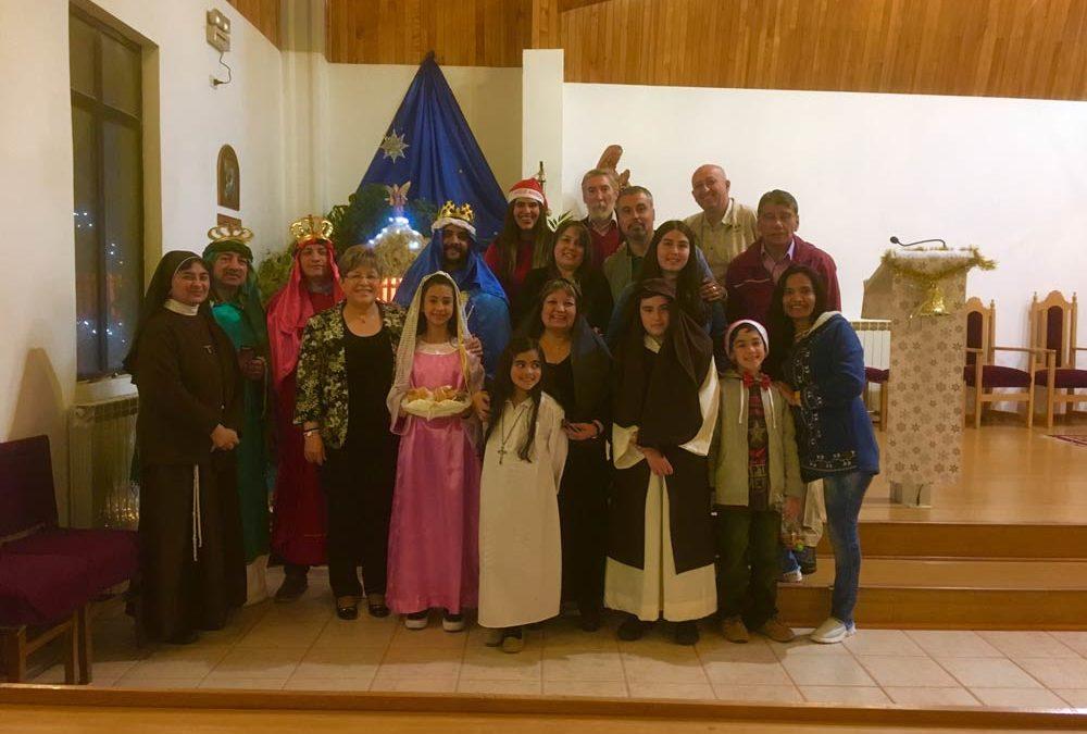 Celebración de Navidad en Ceb Dios Padre