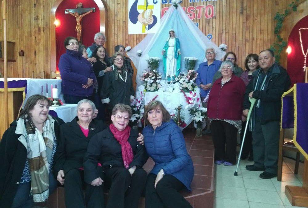 Finalización mes de María en Ceb San Juan XXIII.