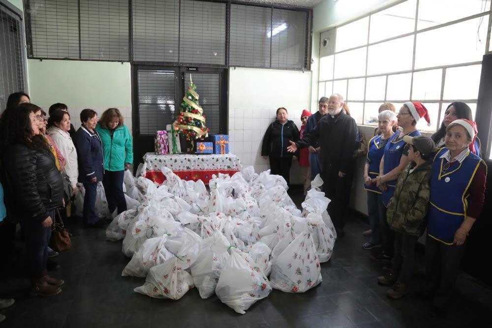 Campaña Misión Nochebuena juntó 3 toneladas de alimentos que beneficiarán a 800 personas