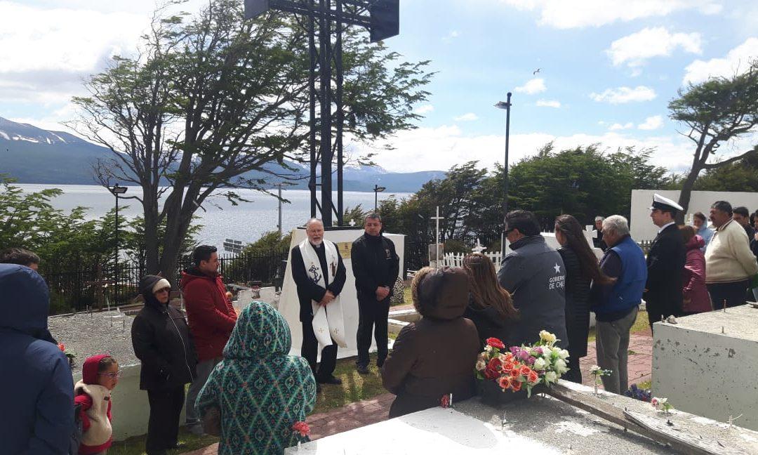 Visita pastoral en Puerto Williams