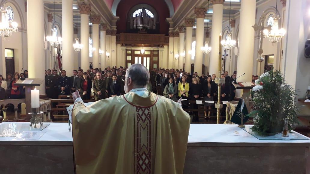 Eucaristía en el aniversario de Carabineros