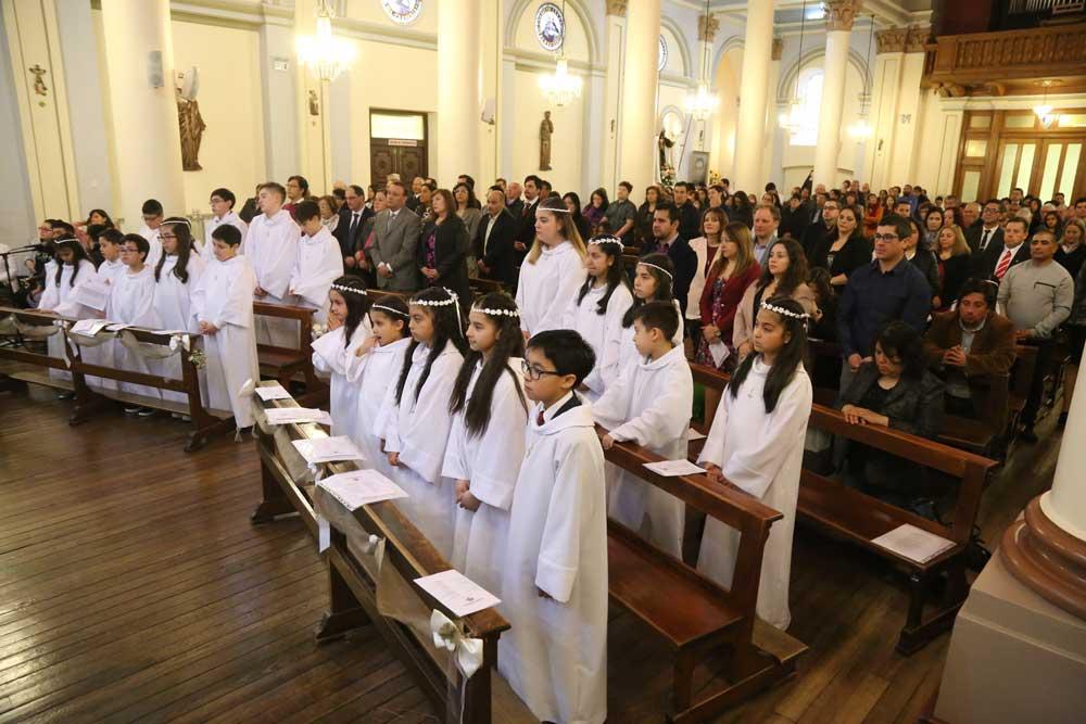 Primer Encuentro con Cristo en la comunión eucarística durante el tiempo pascual