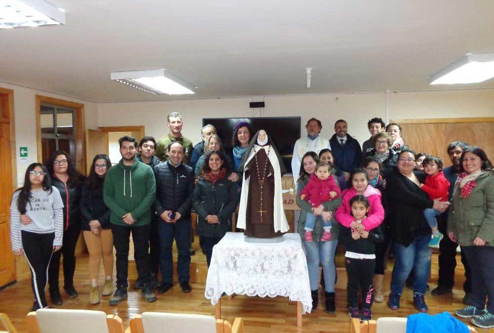 Celebración de Santa Teresa de los Andes en Cerro Castillo