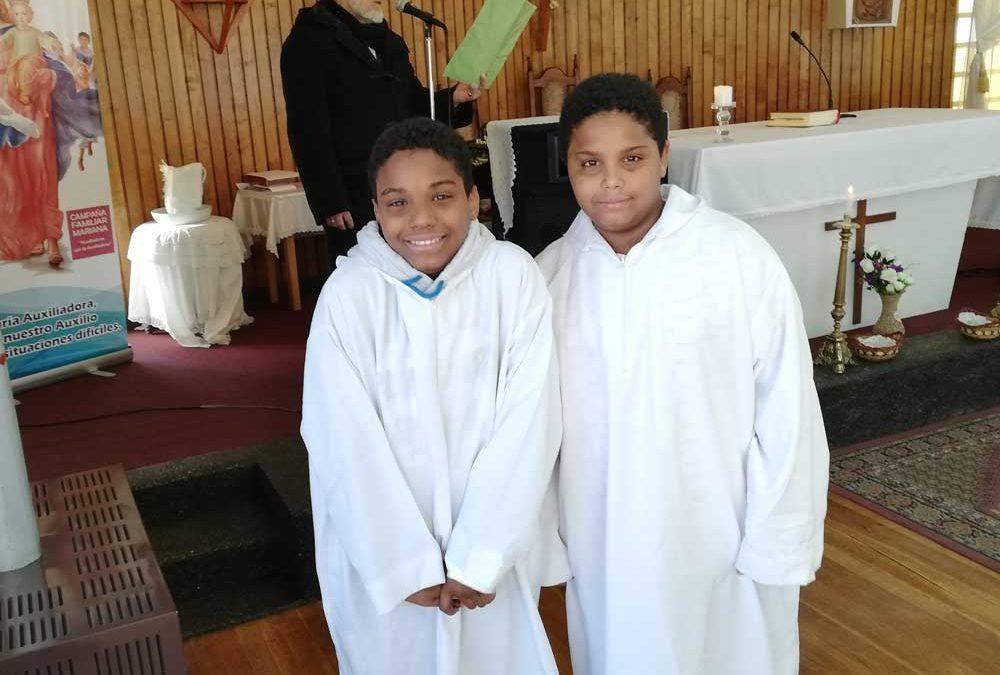 Celebración día del acólito en Ceb Corazón de María